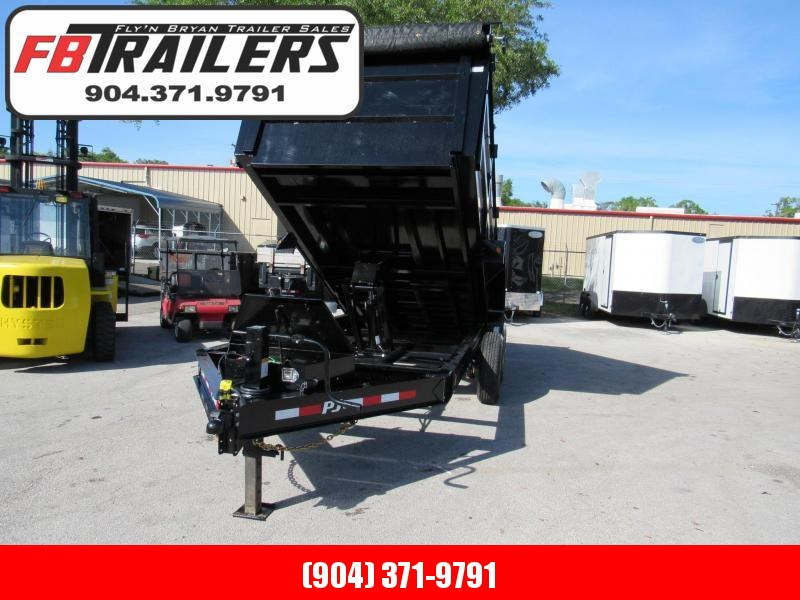 2020 PJ Trailers 14ft High Side Dump Trailer