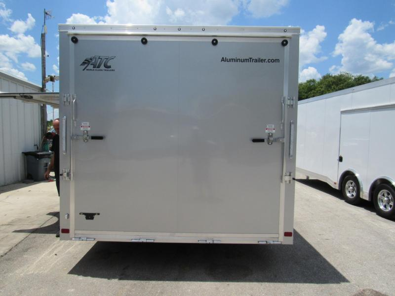 2020 20' Aluminum Frame Spread  Axle Race Trailer by ATC Weighs ONLY 2861 LBS