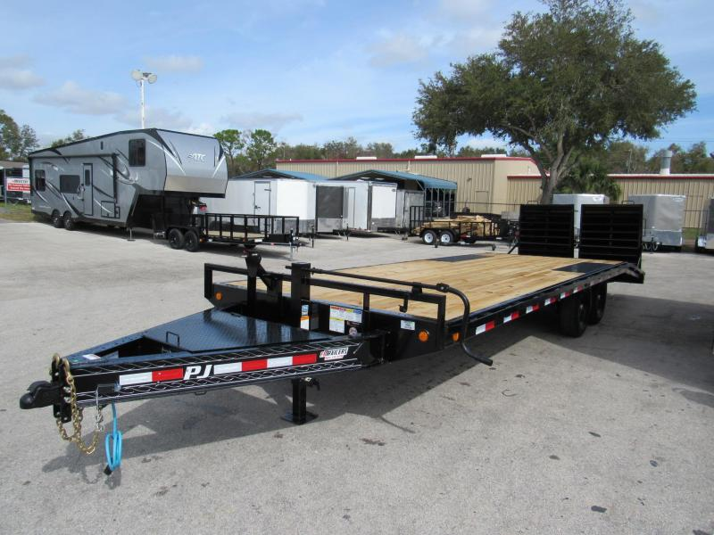2020 PJ Trailers 24 Ft Deckover Equipment Trailer