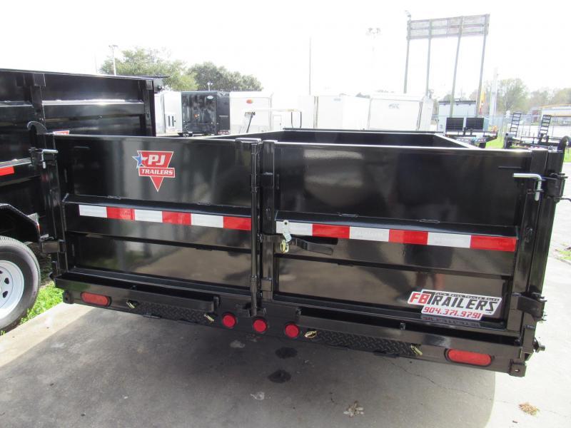 2020 PJ Trailers 7X14 Low Pro Dump Trailer