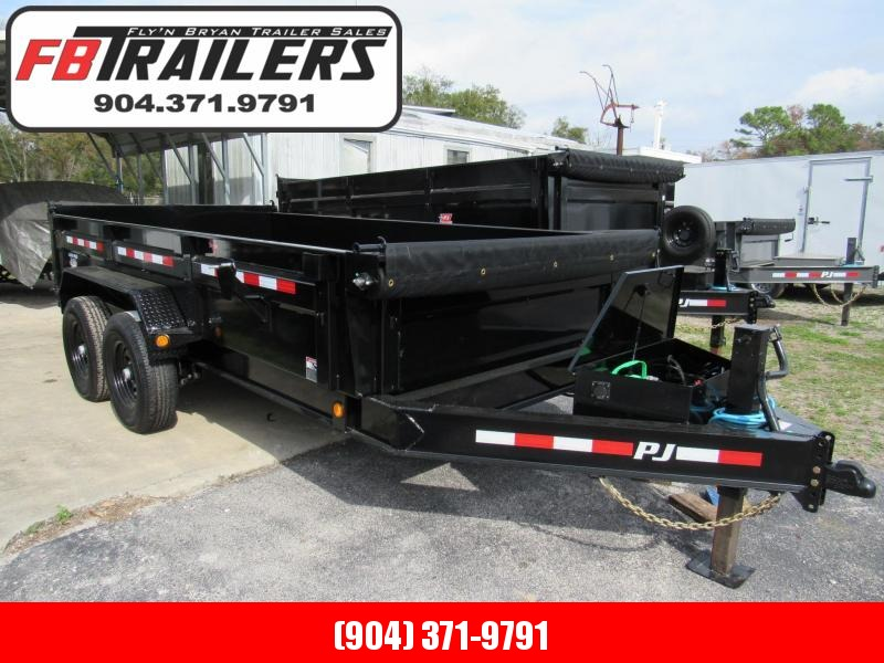 2020 PJ Trailers 7X14 Low Pro Dump Trailer