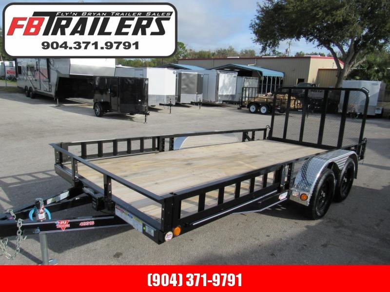 2020 PJ Trailers 16Ft ATV Ramps Utility Trailer