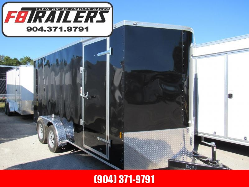 2020 Continental Cargo 7X16 6 Inches Add Height Enclosed Cargo Trailer