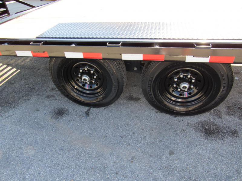 2020 PJ Trailers F8 24ft Deckover Equipment Trailer