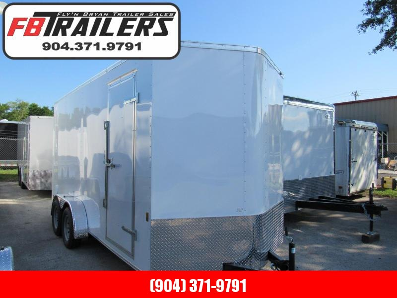 2020 Continental Cargo 7X16 12 In Added Height Enclosed Cargo Trailer