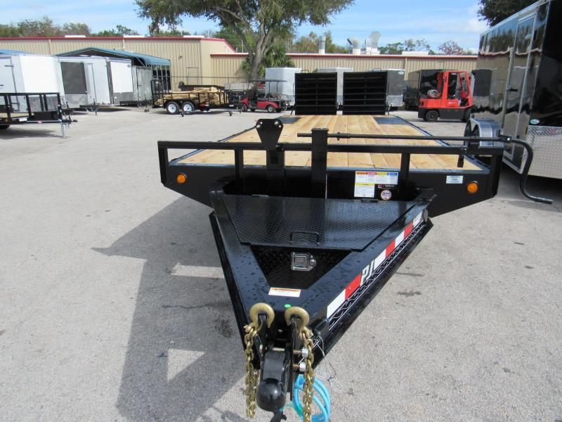2020 PJ Trailers 24Ft Deckover Equipment Trailer