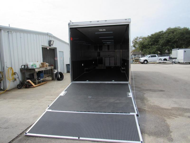 2021 Cargo Mate 32ft Eliminator Series Car / Racing Trailer