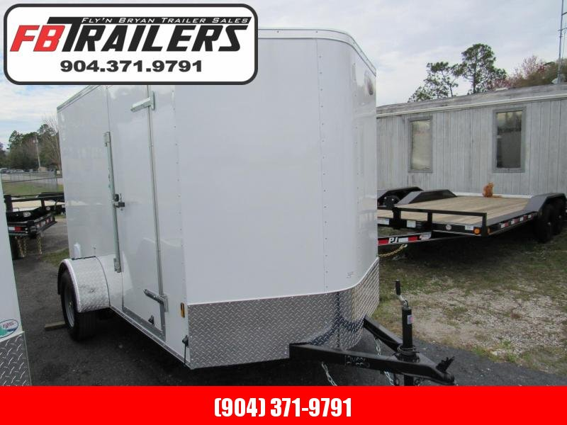 2020 Continental Cargo 6X10 Ramp door Enclosed Cargo Trailer