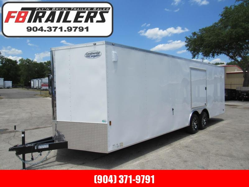 2021 Continental Cargo 24ft with Escape Door Car / Racing Trailer