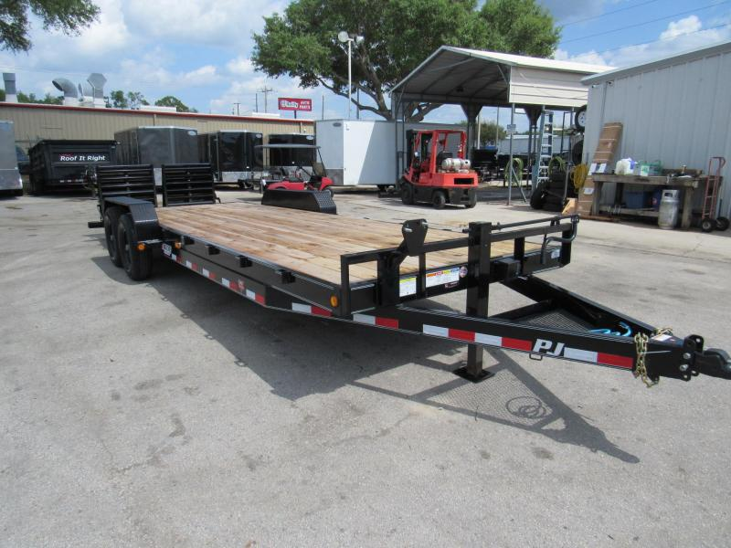 2020 PJ Trailers 24 Ft CC Equipment Trailer