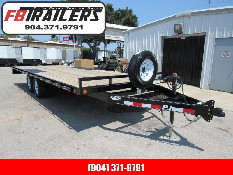 2020 PJ Trailers 20ft Deckover Equipment Trailer