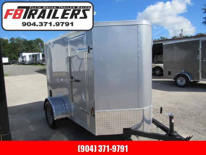 2020 Continental Cargo 5X8 Enclosed Cargo Trailer