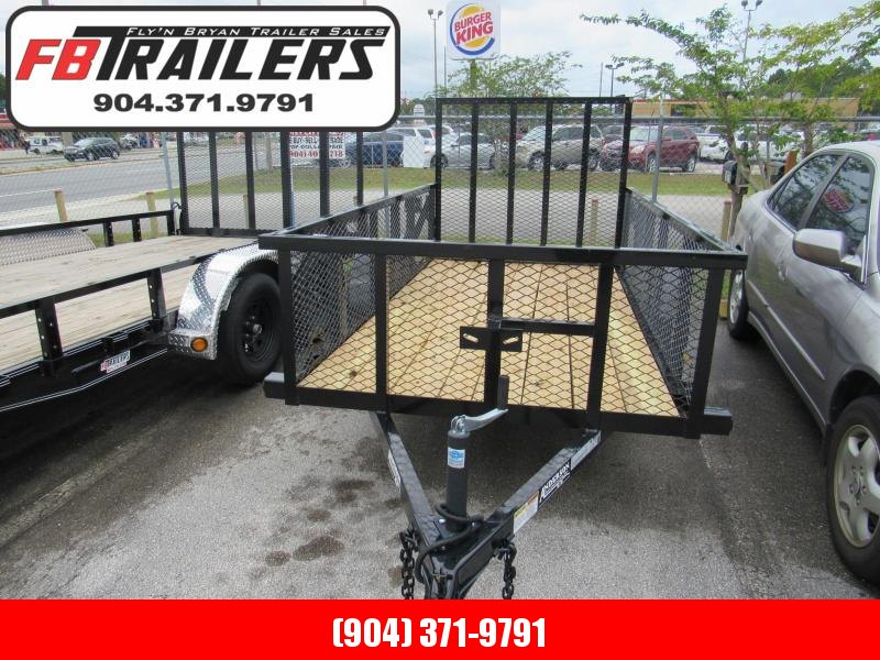 2020 Anderson Manufacturing 5X10 with 2 ft Mesh Sides Utility Trailer