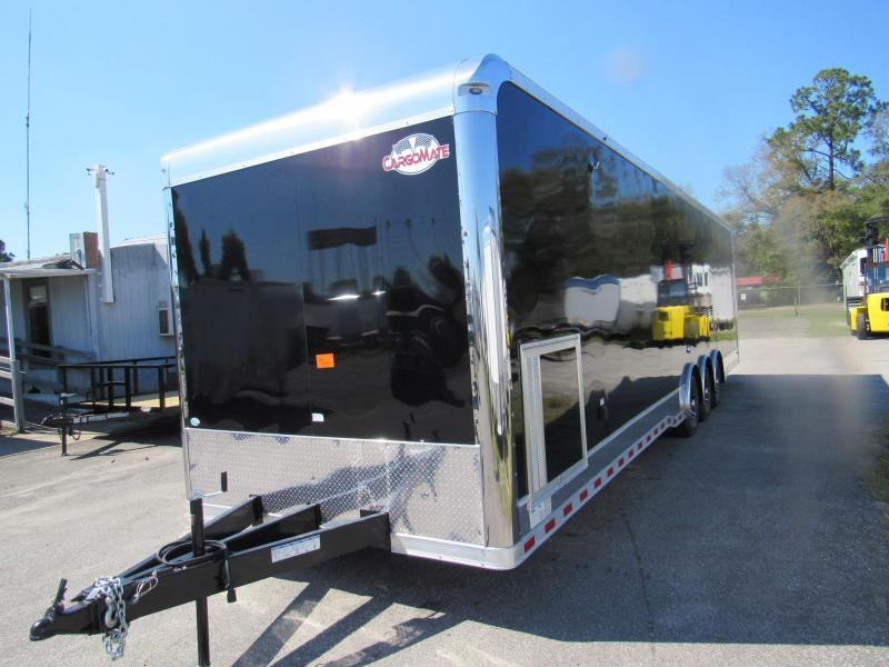 2020 Cargo Mate 34ft Eliminator Series Car / Racing Trailer