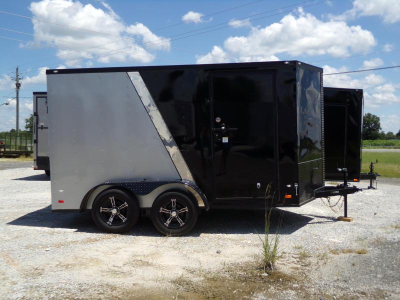 2018 7x12 Tandem Axle Enclosed Cargo Trailer