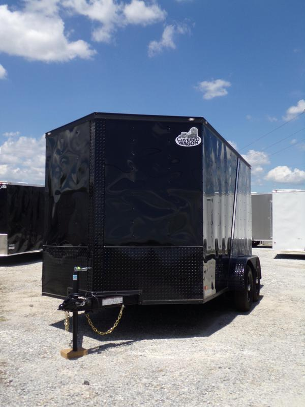2018 Covered Wagon 7 x 12 Enclosed Cargo Trailer
