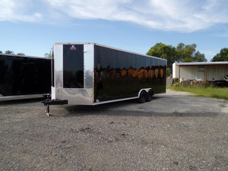 2018 Anvil 8.5 x 24 Tandem Axle Enclosed Cargo Trailer