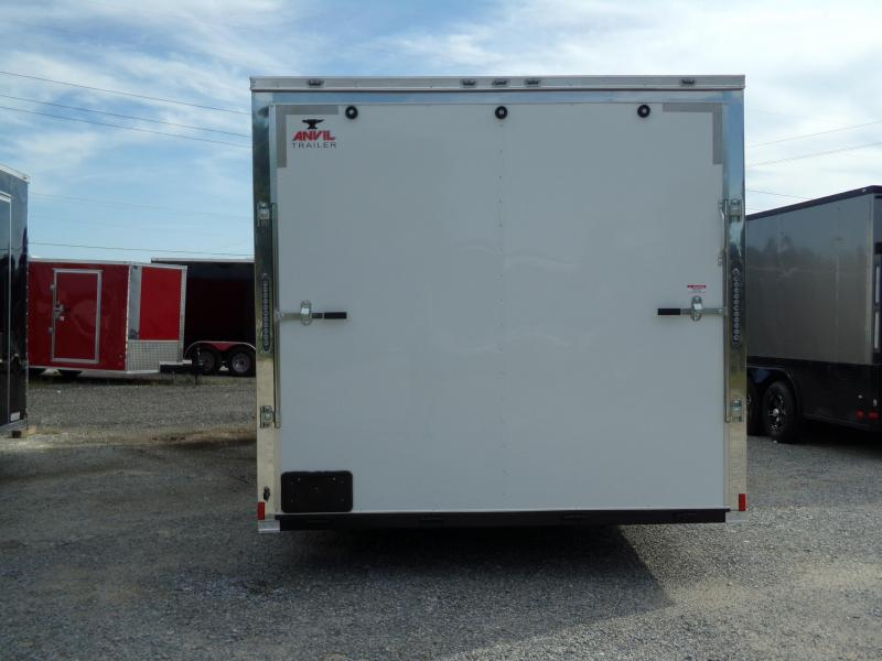 New 7 x 16 Tandem Axle Anvil Enclosed Cargo Trailer