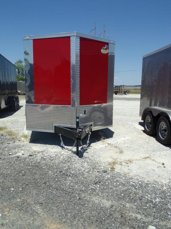 2018 Anvil Covered Wagon Enclosed Cargo Trailer