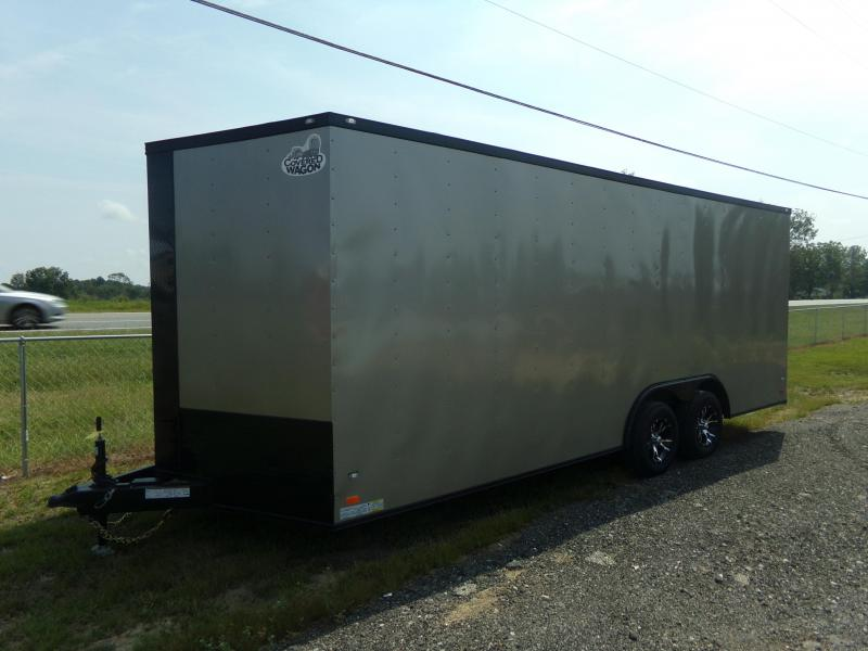 2018 Covered Wagon Trailers 8.5x20TA COVERED WAGON BLACK OUT Enclosed Cargo Trailer