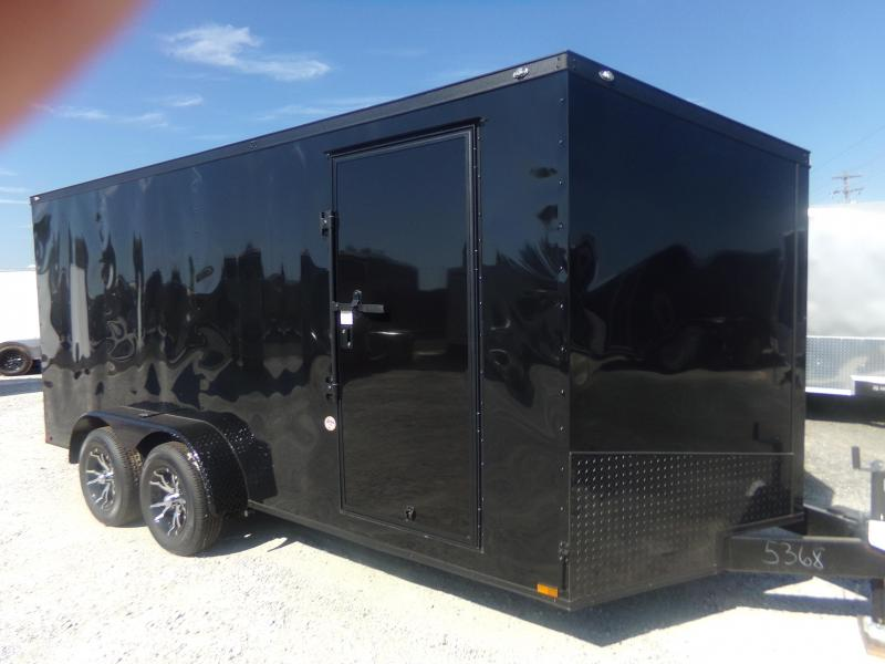 2020 Spartan 2020 7X16TA SPARTAN BLACK OUT PKG Enclosed Cargo Trailer