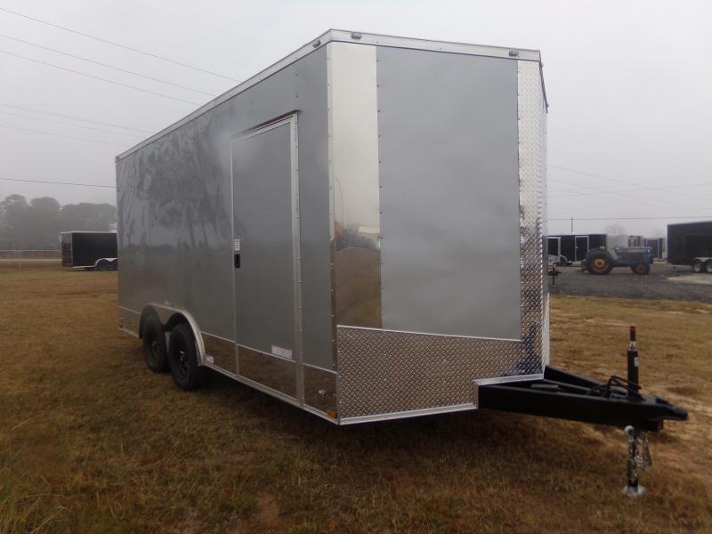 2018 Precision CAR HAULER Enclosed Cargo Trailer