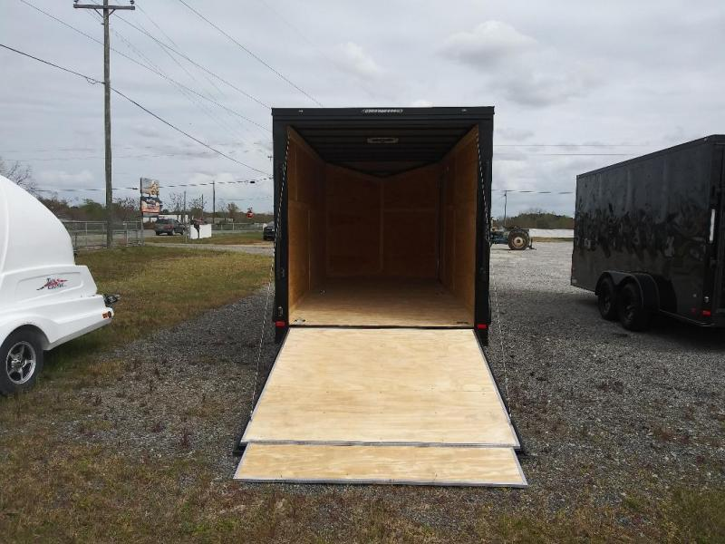 2020 Covered Wagon Trailers 7x16TA Blk out Enclosed Cargo Trailer