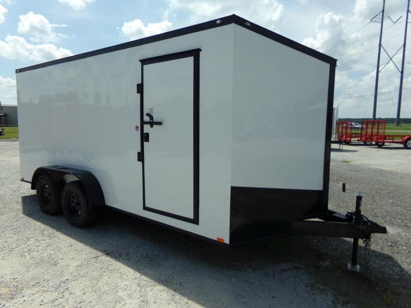 2020 Spartan 7x16 Enclosed Cargo Trailer