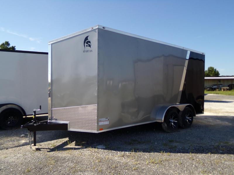 New 7x16 Spartan Enclosed Cargo Trailer