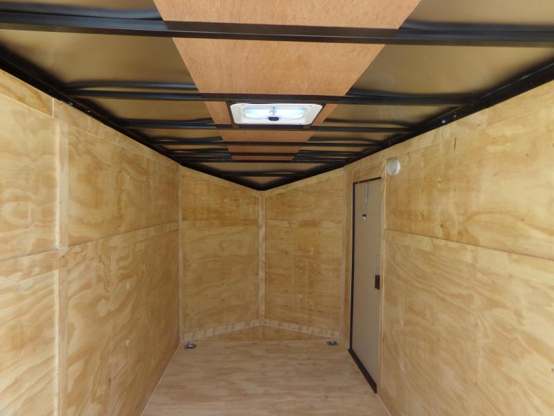 2018 Covered Wagon Trailers 2018 6X12TA COVERED WAGON BLACK OUT PKG Enclosed Cargo Trailer