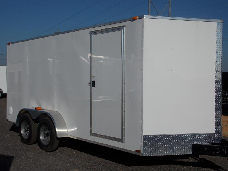 2018  7X16TA  Spartan Economy Enclosed Cargo Trailer