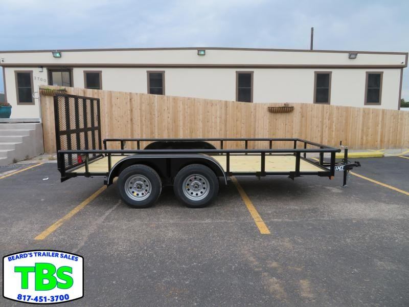 2019 Parker Trailers 77x16 Utility Trailer