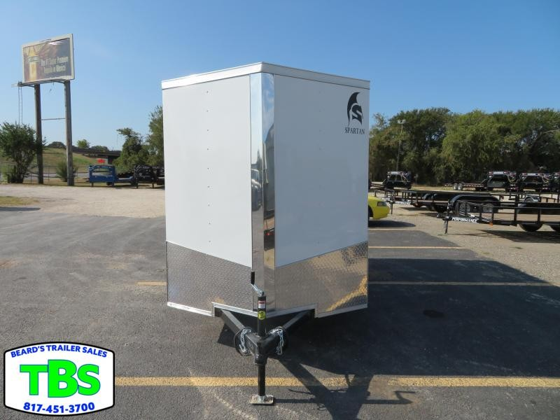 2020 Spartan 6x10 Enclosed Cargo Trailer