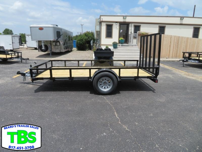 2019 Parker Trailers 77x10 Utility Trailer