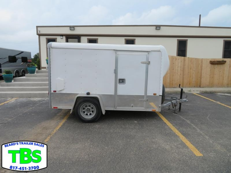 1998 5X10 Enclosed Cargo Trailer