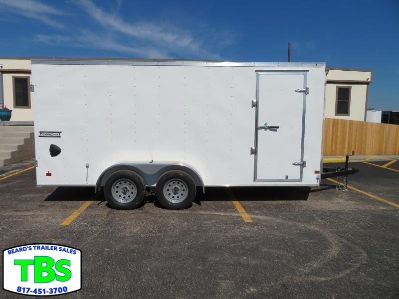 2019 Haulmark 7x16 Enclosed Cargo Trailer