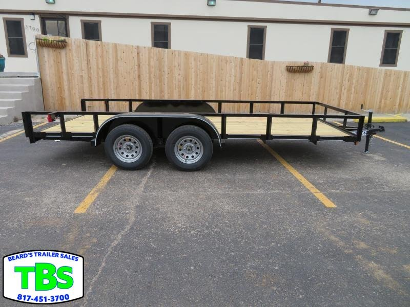 2019 Parker Trailers 77x14 Utility Trailer