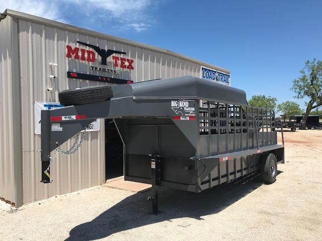 2019 Big Bend 6X16 GOOSENECK Livestock Trailer