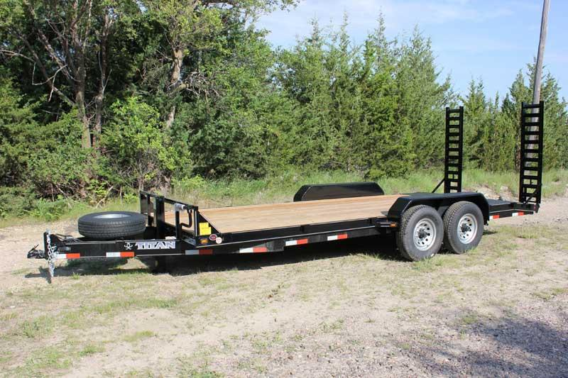 2019 Titan Trailer Bumper Hitch Utility