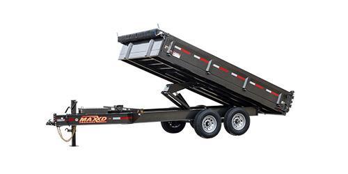 """2019 MAXXD D9X - 96"""" Deckover Dump"""