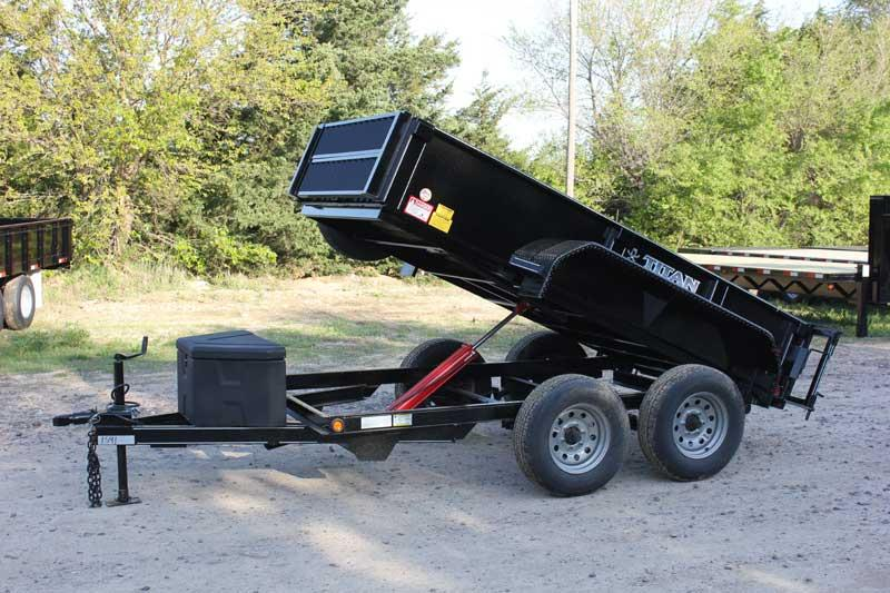 2019 Titan Trailer 5' x 10' Mini-Dump