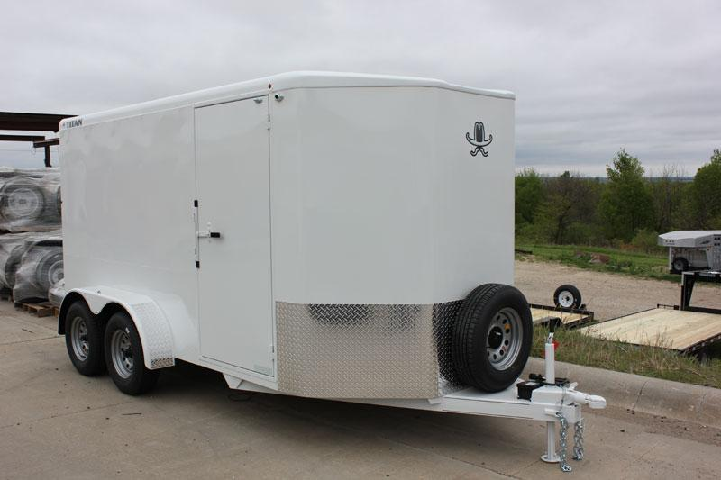 2019 Titan Trailer Bumper Hitch Cargo Trailers