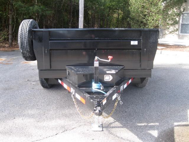 "2020 Pj 10' X 72"" Tandem Axle Dump"