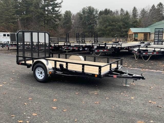 "2020 Pj 12' X 77"" Single Axle Channel Utility"
