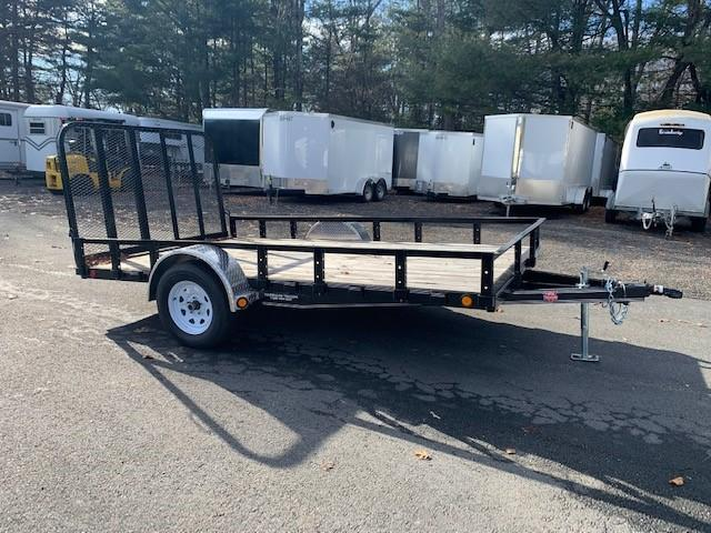 "2019 Pj 12' X 83"" Single Axle Channel Utility"