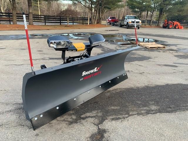 "2020 Snow Ex 7600 Rd 7'6"" Steel Blade"