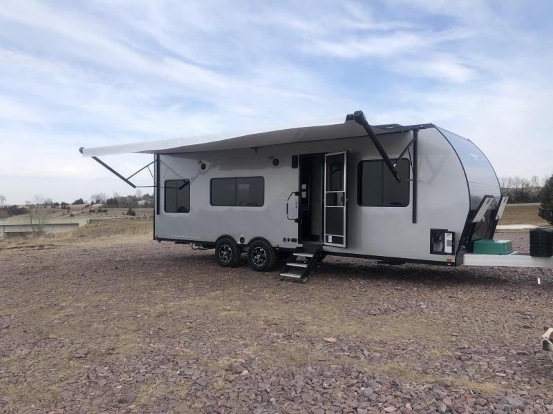 2019 Aluminum Trailer Company Other (Not Listed) 8.5x28 Front Bedroom Toy Hauler RV