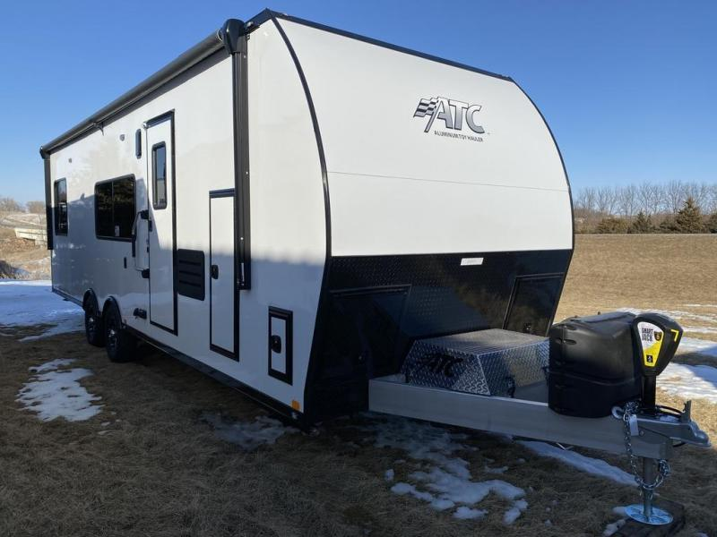 2020 Aluminum Trailer Company ARV 8.5x28 front bathroom Toy Hauler RV