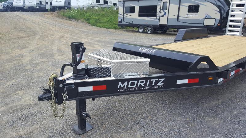 Moritz ELB20AR-14 Low Profile Equipment Trailer