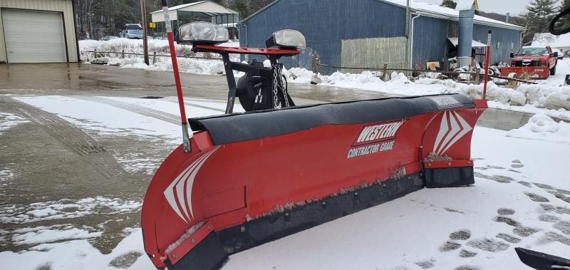 USED WESTERN WIDEOUT 8'-10' Snow Plow